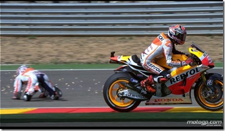 pedrosa crash aragon