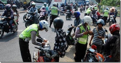 razia lalu lintas