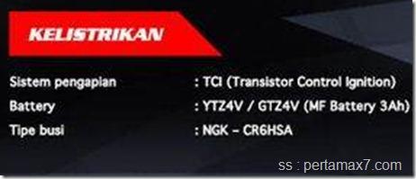 spesifikasi yamaha jupiter Z1 terbaru