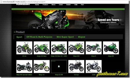 website kawasaki motor indonesia (Small)