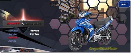yamaha jupiter z1 sporty blue