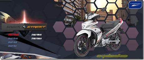 yamaha jupiter z1 sporty white
