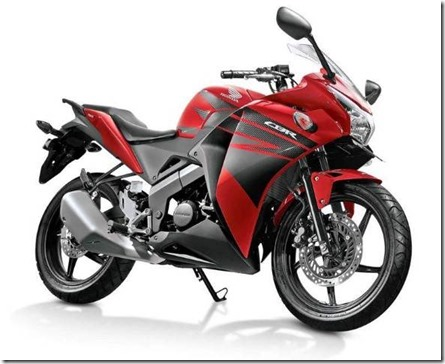 all new honda CBR150R millennium-red (Small)