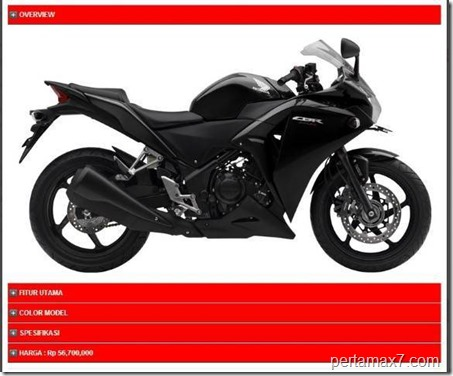 honda CBR250R ABS (Small)
