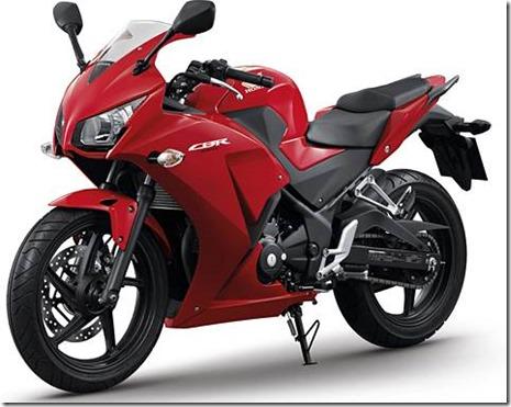 honda CBR300R RED pertamax7