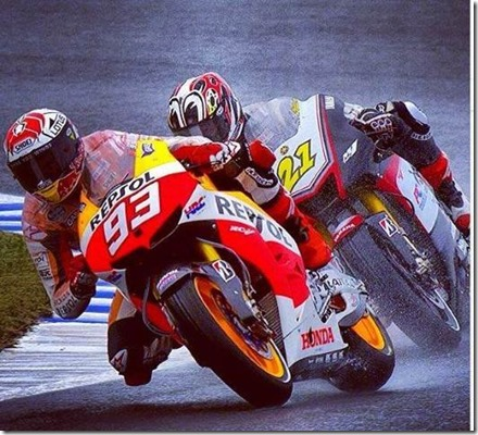 marc marquez on wet track (Small)