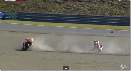 marquez crash motegi
