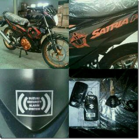 suzuki satria fu fighter plus alarm