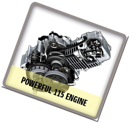 engine Suzuki Raider J 115 Fi
