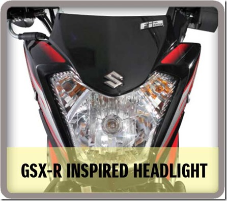 Headlamp Suzuki Raider J 115 Fi
