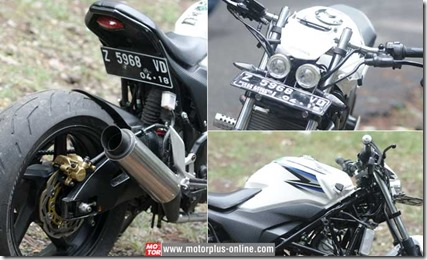 honda CB150R minor fighter 1