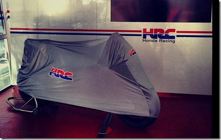 Honda RCV1000R production racer teaser