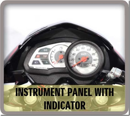 instrument-panel Suzuki Raider J 115 Fi