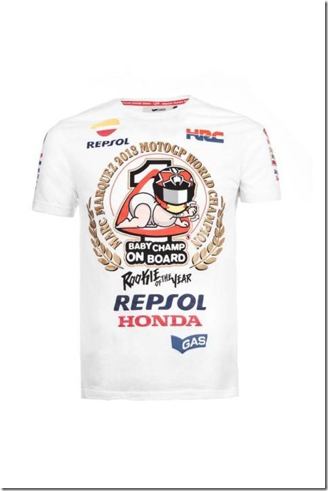 marquez T-SHIRT baby champ on the board 1 (Small)