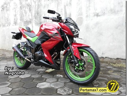 modifikasi kawasaki Z250 (Small)