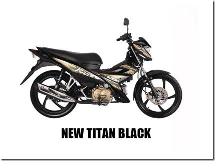 Suzuki Raider J 115 F new-titan-black-(mags)