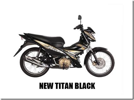 Suzuki Raider J 115 F new-titan-black