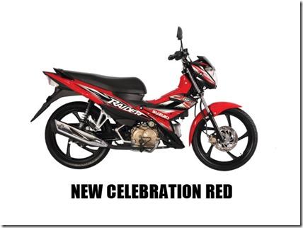 Suzuki Raider J 115 Fi new-celebration-red-(mags)