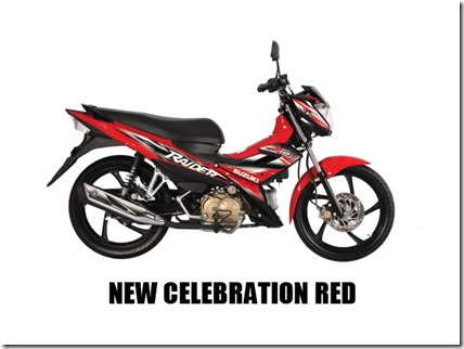 Suzuki Raider J 115 Fi new-celebration-red-(mags)