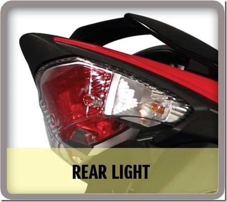 tail-light Suzuki Raider J 115 Fi