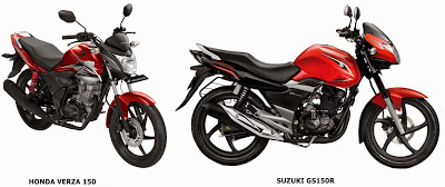 verza vs gs150r body