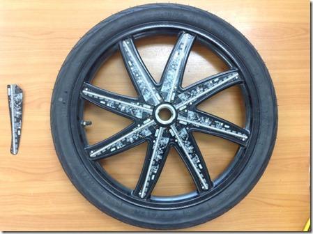 wheelies video on the wheels 2