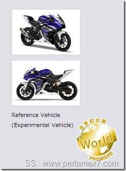 Yamaha R25 experimental