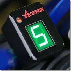 Acumen DG8 Custom Colour Digital Gear Indicator