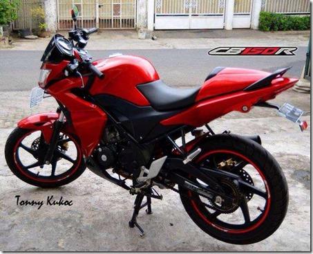 Half fairing Honda CB150 2