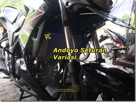 Half fairing Honda CB150 4