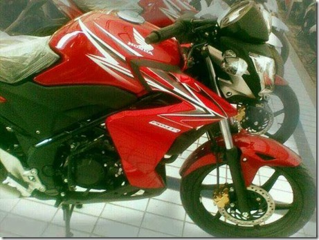Half fairing Honda CB150 dealer 1
