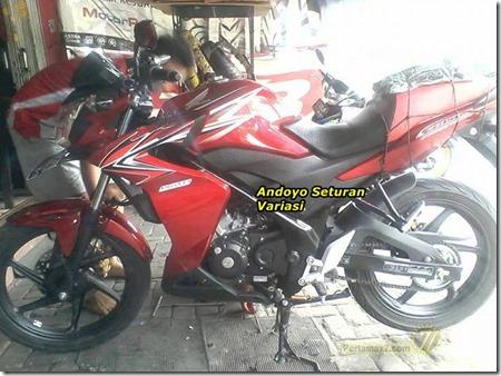 Half fairing Honda CB150R 4
