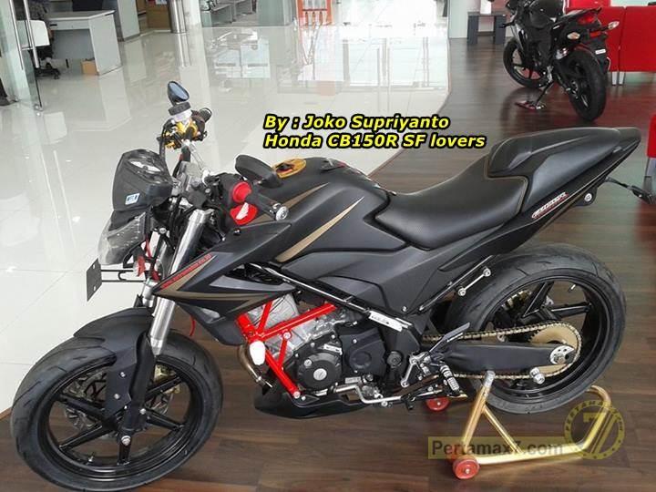 Modifikasi Honda Cb150r Ala Dealer Astra Honda Semarang
