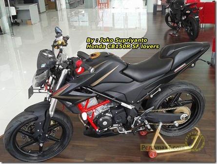Honda CB150R modip astra motor semarang 1