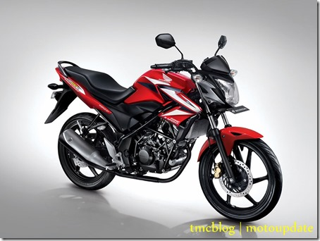 honda CB150R Red 2014