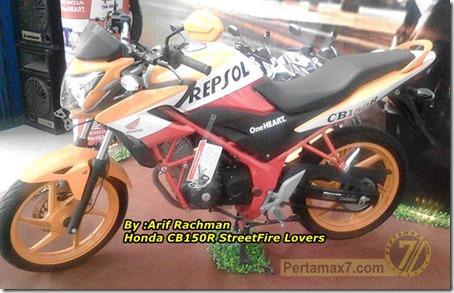 Honda CB150R repsol
