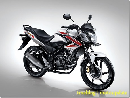 Honda Cb150R white red
