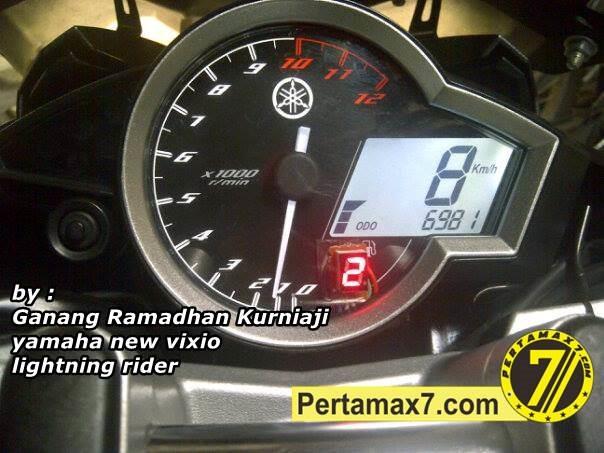 Indikator Gear Di Yamaha New Vixion