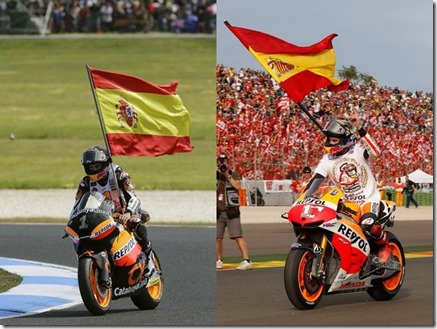 marquez on moto2 and motogp