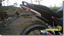 Modifikasi Honda CB150R ala supermoto  9