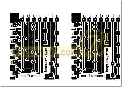 pcb gear indicator yamaha new vixion