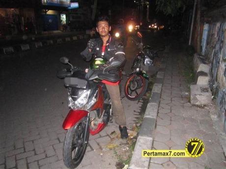 pertamax7 Testride honda CS1