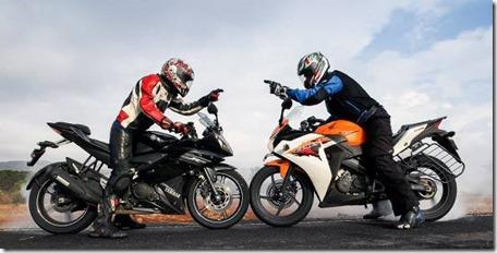 Yamaha R15 VS Honda CB150R