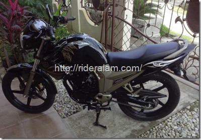 yamaha scorpio black gold 10