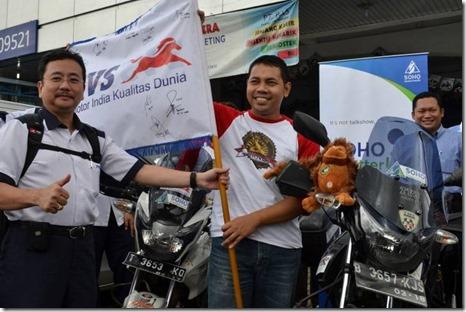 1.1_SOHO Global Health Dukung Round The Borneo_sebar virus edukasi kesehatan (Small)