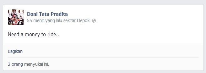 Kata Anak Racing Buat Pcr Doni Tata Pradita butuh duit buat Balap 26 ...