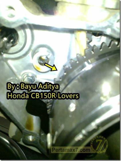 gear starter honda CB150R rompal