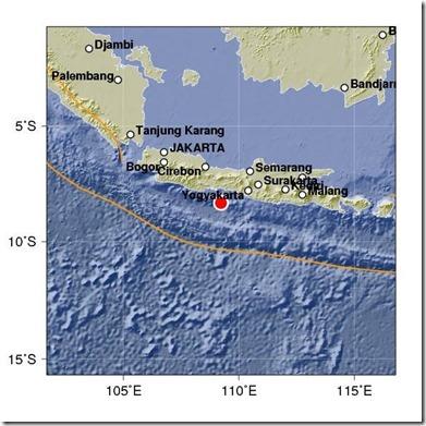 gempa susulan kebuman
