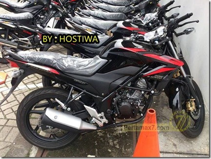 honda CB150R black