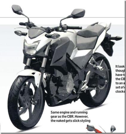 Honda CB300F side